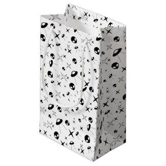 Alien Pattern Small Gift Bag