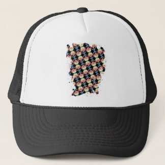 Alien Pattern Trucker Hat