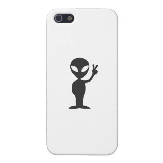 Alien Peace iPhone 5 Covers