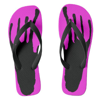 Alien Pink Coming Home Flip Flops