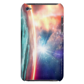 Alien planet, computer artwork. Case-Mate iPod touch case