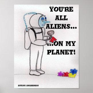 Alien Planet Posters