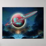 Alien Planet Print