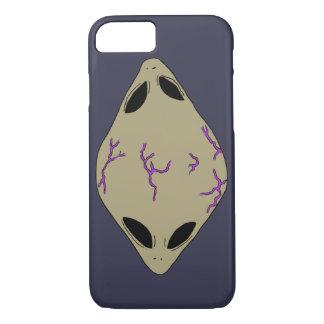 Alien Purple Cell Phone Case