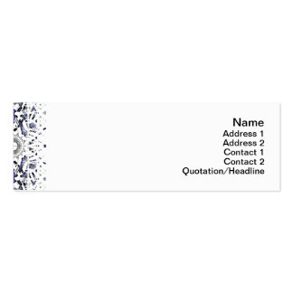 Alien Recorder Small Pack Of Skinny Business Cards