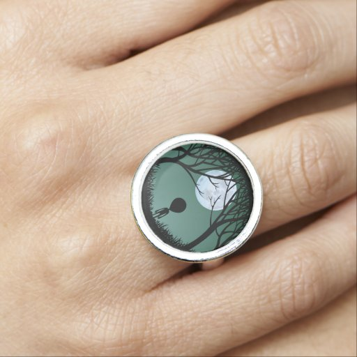 Alien Rings Cute E.T. Ring Extraterrestrial Rings