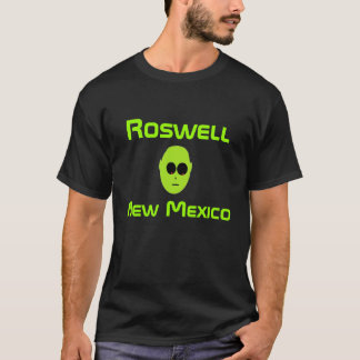 alien, Roswell  , New Mexico T-Shirt