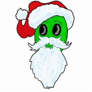 Alien Santa Christmas Tree Ornament Cut Outs