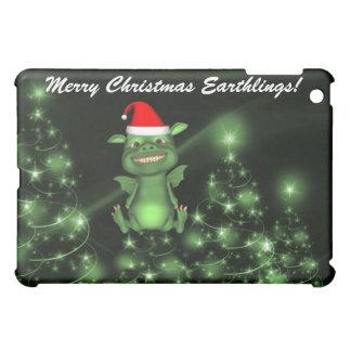 Alien Santa Creatures  Case For The iPad Mini