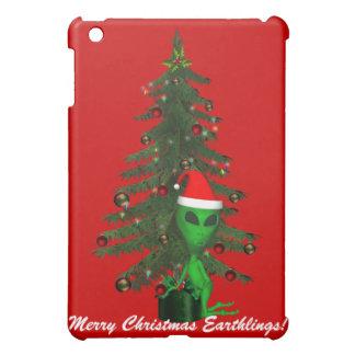 Alien Santa Creatures  iPad Mini Cover