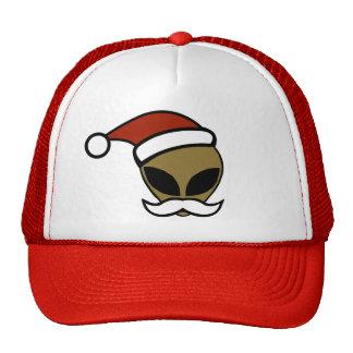 Alien Santa Mesh Hats