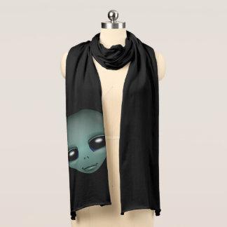 Alien Scarf Extraterestrial Scarves ET Alien Gifts