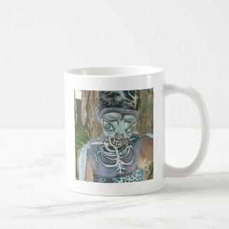 Alien Skeleton Paintings From Body Art! Bodypaint Coffee Mug