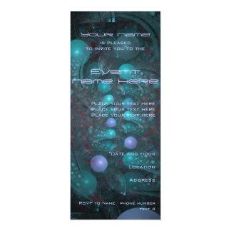 Alien Skin 001 10 Cm X 24 Cm Invitation Card
