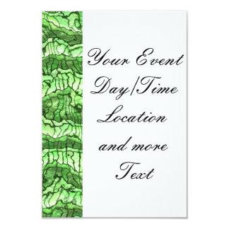 alien skin green 9 cm x 13 cm invitation card
