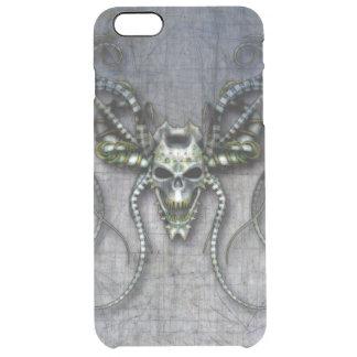 Alien Skull Clear iPhone 6 Plus Case