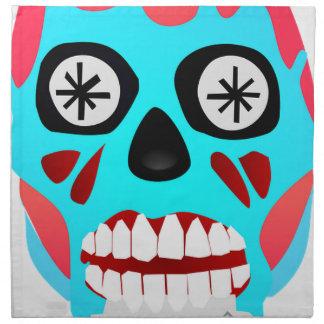 Alien Skull Napkin