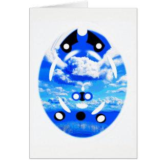 Alien sky card