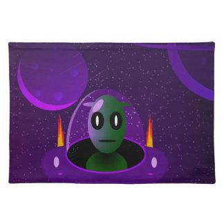 Alien space placemat