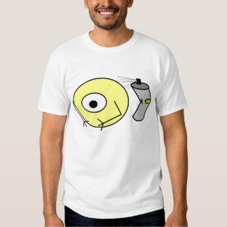 Alien Spraypaint Can by Axiom Tee Shirt