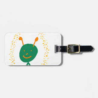 Alien stars luggage tag