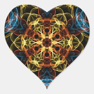 Alien Table Heart Sticker