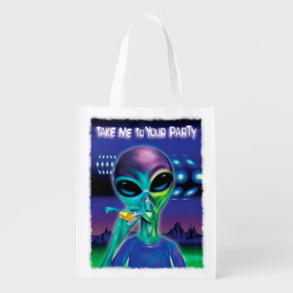 Alien Take me to your Party Re-usable bag