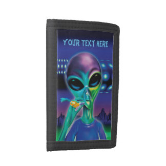 Alien 'Take me to your Party' Wallet