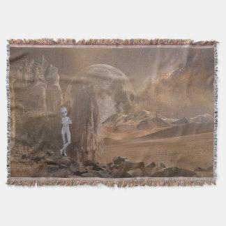 Alien Throw Blanket
