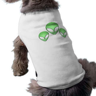 Alien Trio Dog Shirt