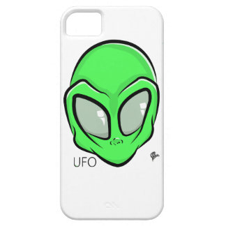 Alien UFO Extraterrestrial Cartoon GFX Case For The iPhone 5