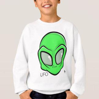 Alien UFO Extraterrestrial Cartoon GFX Sweatshirt