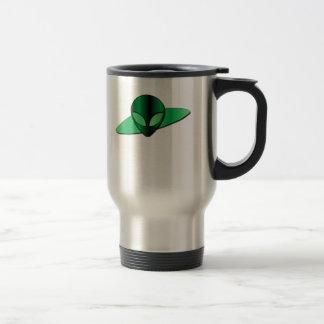 Alien UFO Stainless Travel Mug