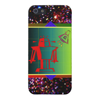 Alien Visitor Case For iPhone 5/5S