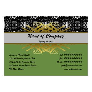 Alien Wall Decor Small Business Cards