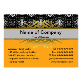 Alien Wall Decor Small Large Business Cards (Pack Of 100)