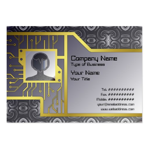 Alien Wall Decor Small Business Card Templates