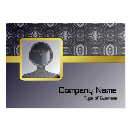 Alien Wall Decor Small Business Card