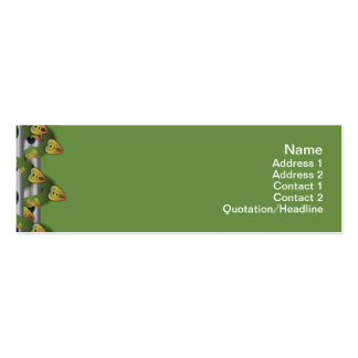 Alien Wall Decor Small Pack Of Skinny Business Cards
