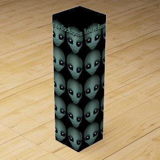 Alien Wine Box Custom Extraterrestrial Wine Box