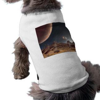 Alien World Sleeveless Dog Shirt