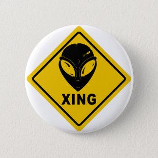 Alien X-ING 6 Cm Round Badge