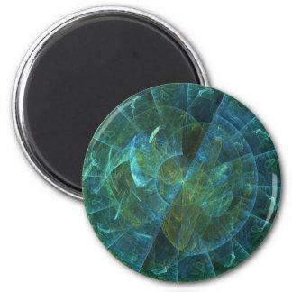 Alien Zodiac 6 Cm Round Magnet