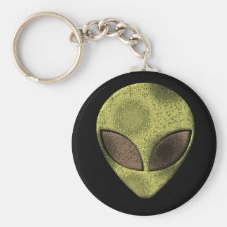 Alienation Black Keychain