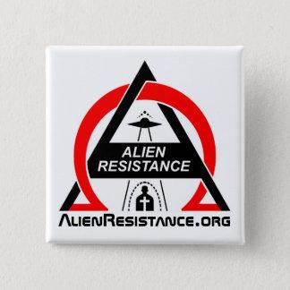 AlienResistance.org 15 Cm Square Badge