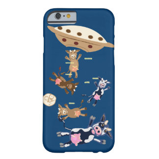 Aliens abducting cows barely there iPhone 6 case