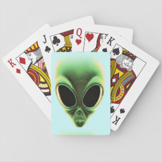 Aliens Among Us Playing Cards