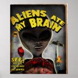 Aliens Ate My Brain Poster