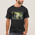 Aliens Black T-shirt in colour!