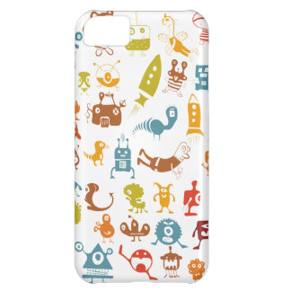 Aliens Cover For iPhone 5C
